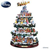 1400567001 - Disney Tabletop Christmas Tree: The Wonderful World Of Disn…