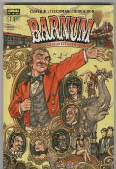 BARNUM (Chaykin, Tischman & Henrichon).