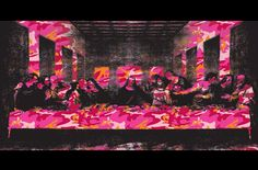 Andy Warhol  The Last Supper (Camouflage)  info@guyhepner.com www.guyhepner.com  #andywarhol #lastsupper #camouflage