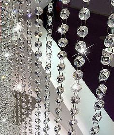 Cheap curtains for doors with windows buy quality curtain tie back 66 ft clear glass chandelier crystal bead chain wedding christmas garland 14mm aloadofball Choice Image