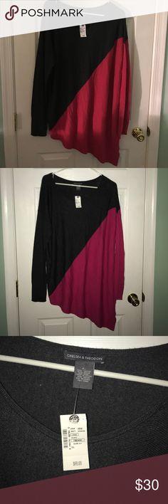 Sweater dress or oversized sweater NWT. chelsea & theodore Sweaters Crew & Scoop Necks