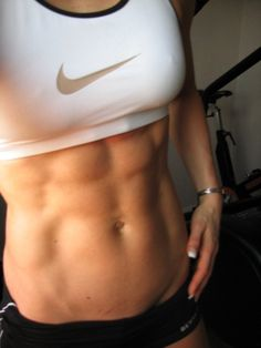 Holy Smokin' Abs! ~ I'll remember this pic the next time I want to skip my AB workout!