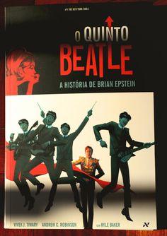 Biblioteca nerd: O Quinto Beatle – A História de Brian Epstein | Nerdivinas