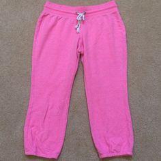 Pink Crop Sweatpants Light pink crop drawstring sweatpants. In great condition. Xhilaration Pants