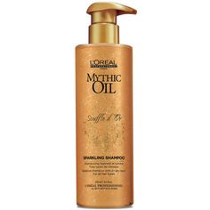 hairbodyproducts.com FREE DELIVERY BEST PRICES ONLINE L'OREAL PROFESSIONNEL MYTHIC OIL SPARKLING SHAMPOO SOUFFLE D'OR 250 ML - HAIR BODY PRODUCTS.COM @ LEONARDS HAIRDRESSERS MALTA