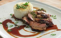 Grilled Duck Breasts with Sake & Soy Glaze // sub in tamari to make this gluten free