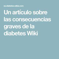 wiki de síntomas de diabetes tipo 1