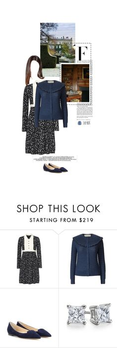 """Untitled #2467"" by duchessq ❤ liked on Polyvore featuring Nicki Minaj, Chloé, Orla Kiely, Jimmy Choo and Blue Nile"