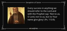 TOP 25 QUOTES BY SERAPHIM OF SAROV | A-Z Quotes