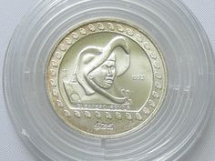 Mexico 1992, 25 Peso - Silver coin, 999 silver, weight: 7, 78 Gr, diameter: 27 mm. With certificate. In coin capsule.