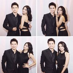 Nadine Lustre and James Reid