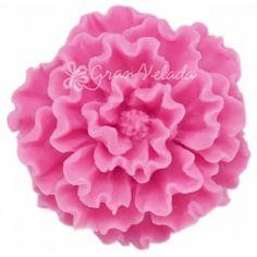 Molde para #hacerjabon, Amapola Silvestre 3D, bonita flor con la que podrás hacer detalles ideales y decorar tu baño. Apto para hacer jabón de glicerina. Hazlo tu mism@. #diy