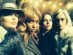 Kristin Bauer, Merrin Dungey, Lana Parrilla & Victoria Smurfit #Queens <3