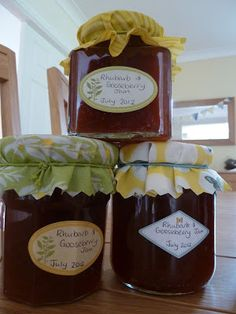 ... preserving on Pinterest | Gooseberry Jam, Canning and Canning Recipes
