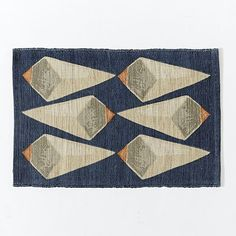 Patch NYC Crystals Jute Rug - Midnight   West Elm
