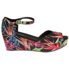 Toms Platform Wedge Sandals - Women - SOLETRADER