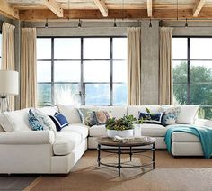 We are a bit bias but we love our Townsend Sectional! An extra-deep seat, plump…