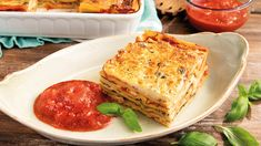 Vegetarian, Ethnic Recipes, Roman, Food, Lasagna, Essen, Meals, Yemek, Eten