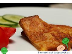 Eiertoast - einfaches, schnelles Frühstück oder Zwischenmahlzeit für Babys ab 6 Monaten - Rezept für BLW-Anfänger