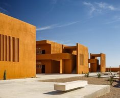 Laayoune Technology School , Laâyoune-Boujdour-Sakia El Hamra, 2014 - Saad El Kabbaj Architecte, Driss Kettani Architecte
