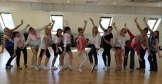 Dirty Dancing hen party class in Edinburgh taught by The Cheerleading Company. #lovecheerleadingcompany