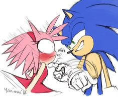 Sonic The Hedgehog, Silver The Hedgehog, Shadow The Hedgehog, Sonic And Amy, Sonic And Shadow, Amy Rose, Doctor Who Craft, Sonamy Comic, Sonic Underground