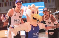Ana Patricia and Rebecca from Brazil won the year's first FIVB event at The Hague. The Hague, Beach Volleyball, The Man, Tours, Men, Guys