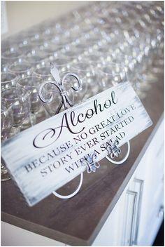 Wedding Signage  | The Budget Savvy Bride