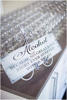 Wedding Signage  | The Budget Savvy Bride