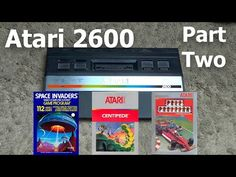 Atari 2600 Retro Series Part Two | Playthrough Space Invaders Centipede & Pole Position - YouTube