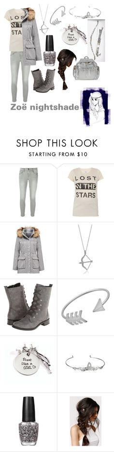 """""""Zoë nightshade"""" by gglloyd ❤ liked on Polyvore featuring Frame Denim, Zoe Karssen, Forever New, BERRICLE, Aerosoles, Blu Bijoux, OPI, With Love From CA, Pierre Hardy and women's clothing"""