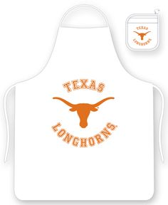 the latest 4955a 64e7d Texas Longhorns Apron Set - Standard Size - Mitt Included - 100% Polyester  University Of