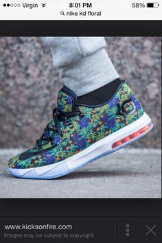 fb9f84164da my favorite show in my collection are my Nike KD 6 EXT Floral.