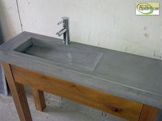 Lavabos - Comptoirs et lavabos en béton - Restauration de béton