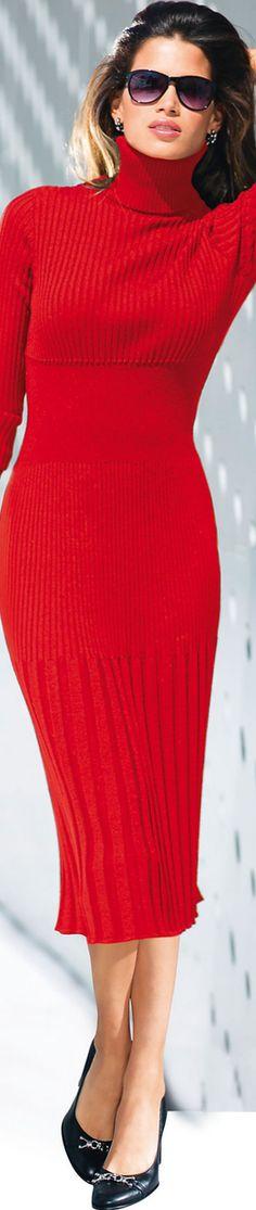 Madeleine Red Dress