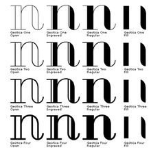 FFFFOUND! | Geotica - a [free] font from exljbris Font Foundry