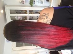 Red dip by hairsalonxs