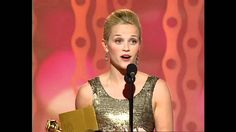 Reese Witherspoon Wins Best Actress Motion Picture Musical or Comedy - G...