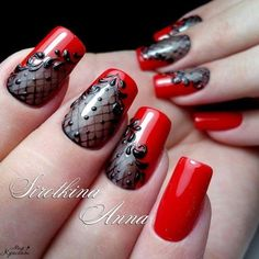 Маникюр | Видео уроки | Art Simple Nail-would love to do this in white/pink or blue/white