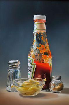 Amazing hyper-realist painting (Tjalf Sparnaay)