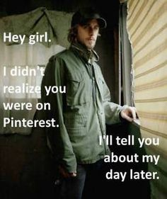 "hahaha!  I feel like such a dork about how much these ""hey girl"" things make me laugh."