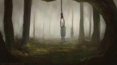 Lonely Girl by TristanBerndtArt on deviantART