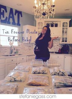 10 Freezer Meals to Make Before Baby   Easy, Affordable, Fast!   www.stefaniegass.com