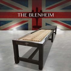 Bring your games room to life with a classic Blenheim Shuffleboard Handmade by Waldersmith and bring a fun touch to your office space or home decor. Coke Machine, Vintage Coke, Air Hockey, Game Room, Bobs, Arcade, Entryway Tables, Design Inspiration, Backyard