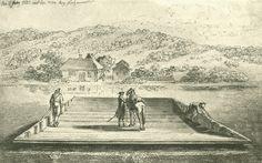 Chodowiecki, Die Oderfähre (Danziger Skizzen, 1773).