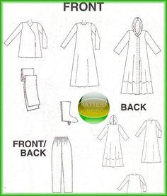 McCalls 2433 Star Wars Darth Maul Obi Wan Robe Patterns