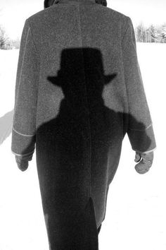 Shadow. S)... creepy but old school investigator like! Coool