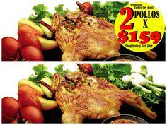 2 Pollos x $159 Suc. #Coapinole y #SanJoseDelValle Ven a visitarnos #vallarta #puertovallarta #bahiadebanderas
