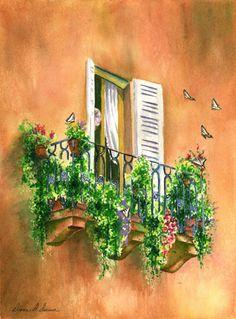 Diana D Dunn. Watercolor | Art
