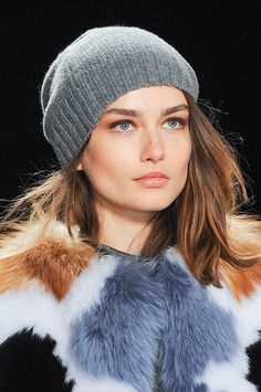 Hat Trends Fall 2013 - theFashionSpot: if I wore hats, this would be the one!